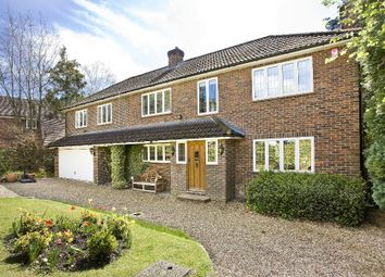 Thumbnail 5 bedroom detached house for sale in Morella Close, Wentworth, Virginia Water