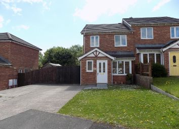 Thumbnail 3 bed semi-detached house for sale in Pen Llwyn, Broadlands, Bridgend.