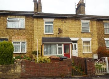 Thumbnail 2 bedroom terraced house for sale in Burghley Road, Peterborough, Cambridgeshire