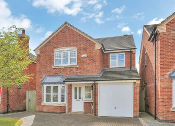 Thumbnail 4 bed detached house for sale in Durham Close, Melton Mowbray