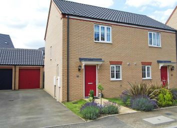 Thumbnail 2 bed semi-detached house for sale in Goodwood Drive, Bourne