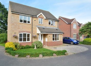 Thumbnail 4 bed detached house for sale in St. Felix Close, Soham
