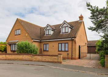 Thumbnail 3 bed detached house for sale in Hemmerley Drive, Whittlesey, Peterborough