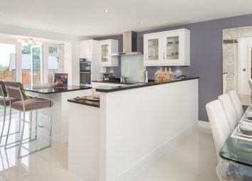 "Thumbnail 5 bed detached house for sale in ""Morecroft"" at Wookey Hole Road, Wells"