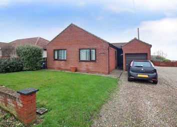 Thumbnail 3 bed detached bungalow for sale in Ostend Gap, Walcott, Norwich