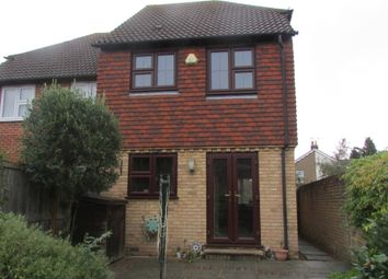 Thumbnail 2 bed end terrace house to rent in Wright Gardens, Shepperton