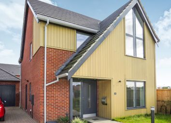 Thumbnail 3 bedroom detached house for sale in Conroy Close, Sprowston, Norwich