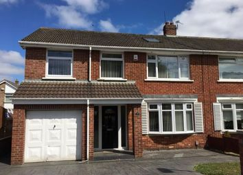 Thumbnail 5 bed semi-detached house for sale in Sadberge Grove, Stockton-On-Tees, Durham