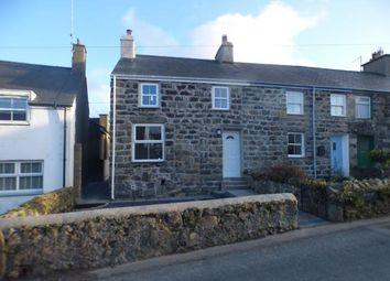 Thumbnail 2 bed end terrace house for sale in Pen Y Bryn, Lon Gerddi, Edern, Gwynedd