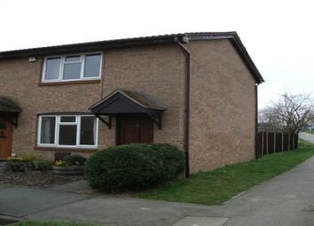 Thumbnail 2 bed end terrace house to rent in Carlton Court, Cowley, Middlesex