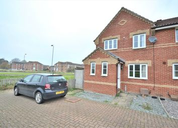 Thumbnail 3 bedroom end terrace house for sale in Bayfield Close, King's Lynn