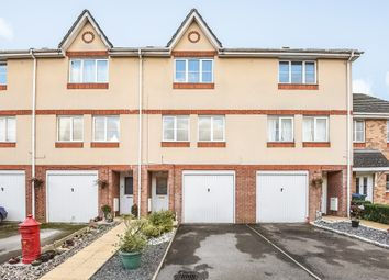 Thumbnail 3 bed town house for sale in Padley Close, Chessington, Surrey