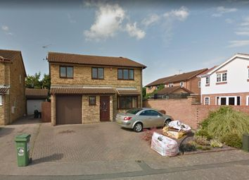 Thumbnail 4 bed detached house for sale in Albury Close, Luton, Bedfordshire