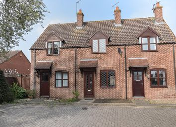 Thumbnail 2 bed terraced house for sale in Staythorpe Road, Rolleston, Newark