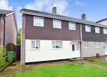 Thumbnail 3 bed end terrace house for sale in Roseberry Gardens, Upminster, Essex