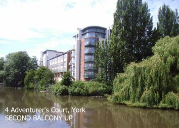 Thumbnail 2 bed flat to rent in Pond Garth, York