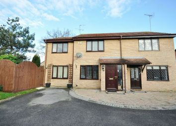 Thumbnail 3 bed semi-detached house for sale in Finstock Close, Lower Earley, Reading