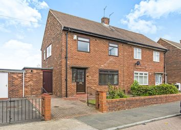 Thumbnail 3 bed semi-detached house for sale in Springwell Road, Springwell, Sunderland