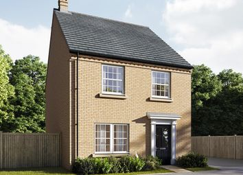 "Thumbnail 4 bed detached house for sale in ""The Mylne"" at Central Avenue, Brampton, Huntingdon"
