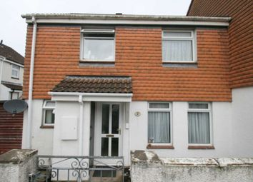 Thumbnail 3 bedroom end terrace house for sale in Debden Close, Plymouth