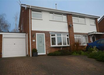 Thumbnail 3 bed semi-detached house for sale in Yardley Close, Warwick
