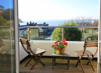Thumbnail 2 bed flat for sale in Hillhead, St. Mawes, Truro