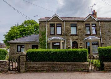 Thumbnail 6 bed semi-detached house for sale in Oakwood Road, Bream, Lydney