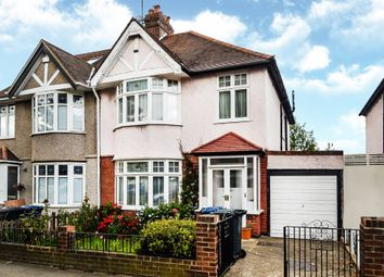 Thumbnail 3 bed semi-detached house for sale in Haslemere Avenue, London