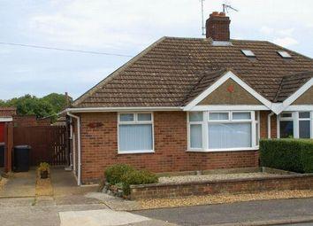 Thumbnail 2 bed semi-detached bungalow for sale in Muscott Lane, Duston, Northampton