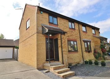 Thumbnail 3 bed semi-detached house for sale in The Spinney, Bar Hill, Cambridge