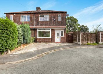 Thumbnail 3 bed semi-detached house to rent in Frome Avenue, Great Moor, Stockport