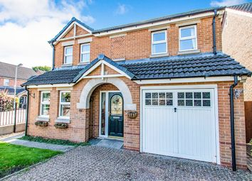 Thumbnail 4 bed detached house for sale in Lotus Court, North Hykeham, Lincoln