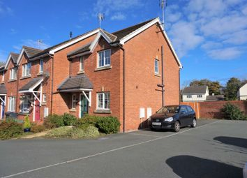 Thumbnail 2 bed end terrace house for sale in Wynnstay Gardens, Ruabon