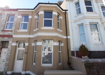 Thumbnail 3 bed terraced house to rent in Cranbourne Avenue, Lipson, Plymouth