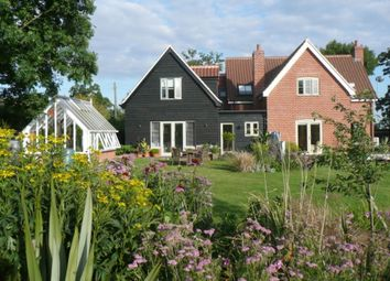 Thumbnail 6 bed detached house for sale in Mill Lane, Bruisyard, Saxmundham