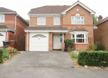 Thumbnail 4 bed detached house for sale in Jutland Crescent, Andover