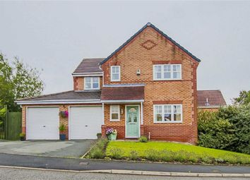 Thumbnail 4 bed detached house for sale in Aintree Drive, Lower Darwen, Lancashire