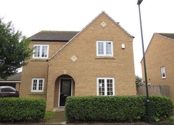 Thumbnail 4 bedroom detached house for sale in Charlotte Way, Peterborough