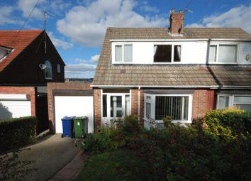 Thumbnail 3 bed semi-detached bungalow for sale in The Rise, Blaydon-On-Tyne