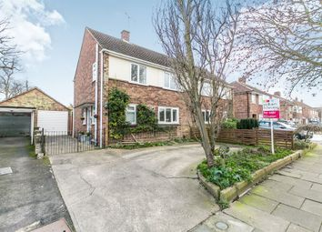 Thumbnail 3 bed semi-detached house for sale in Bromeswell Road, Ipswich
