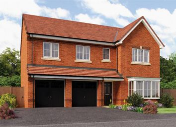 "Thumbnail 5 bed detached house for sale in ""The Buttermere"" at Backworth, Newcastle Upon Tyne"