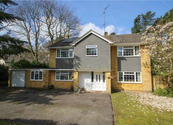 Thumbnail 5 bed detached house for sale in Ardrossan Avenue, Camberley, Surrey