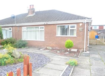 Thumbnail 2 bed semi-detached bungalow to rent in Rostherne Avenue, Lowton, Warrington