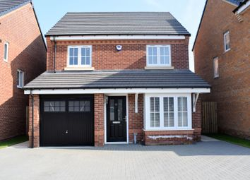 Thumbnail 4 bed detached house for sale in Longmeadows, Bedlington