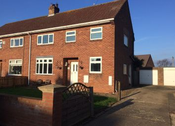 Thumbnail 3 bed semi-detached house for sale in Well Presented Family House Beechwood Place, Ponteland, Newcastle Upon Tyne