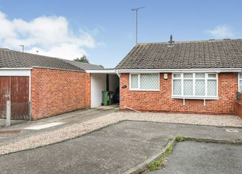 Thumbnail 2 bed semi-detached bungalow for sale in Bramble Way, Braunstone, Leicester
