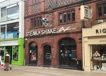 Thumbnail Restaurant/cafe to let in Frodsham Street, Chester
