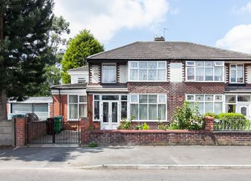 Thumbnail 4 bed semi-detached house for sale in Morville Road, Chorlton Cum Hardy, Manchester