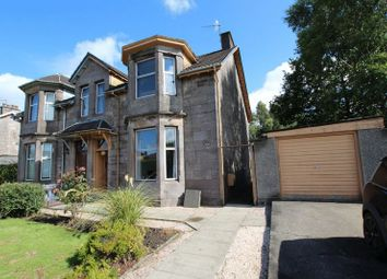 Thumbnail 3 bed semi-detached house for sale in Glasgow Road, Dumbarton