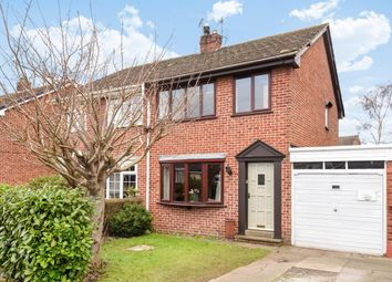 Thumbnail 2 bed semi-detached house for sale in Chestnut Crescent, Holme-On-Spalding-Moor, York